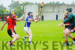 In Action St. Brendan's John Egan scores  in the County Championship Hurling Round 1 Ballyheigue v St Brendan's at Abbeydorney GAA ground on Sunday