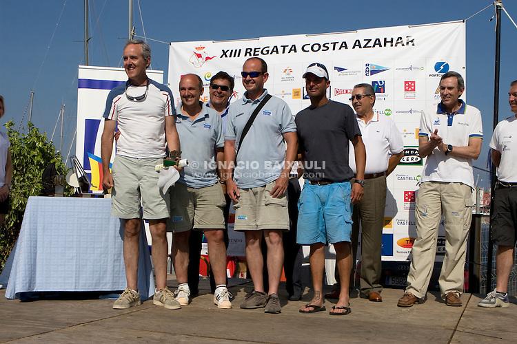 ESP7910 .GARVI .JOSE Mª VILLELLAS FERNANDEZ .JOSE M. VILLELLAS .C.N. San Carles de la Rap .XIII Regata Costa Azahar - 25 al 28 de Junio 2009, Real Club Náutico de Castellón