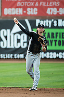 Brendan Rodgers (1) of the Grand Junction Rockies during the game against the Ogden Raptors in Pioneer League action at Lindquist Field on July 6, 2015 in Ogden, Utah. Ogden defeated Grand Junction 8-7. (Stephen Smith/Four Seam Images)