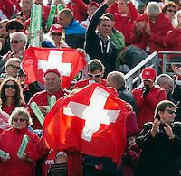 14-09-12, Netherlands, Amsterdam, Tennis, Daviscup Netherlands-Suiss, supporters