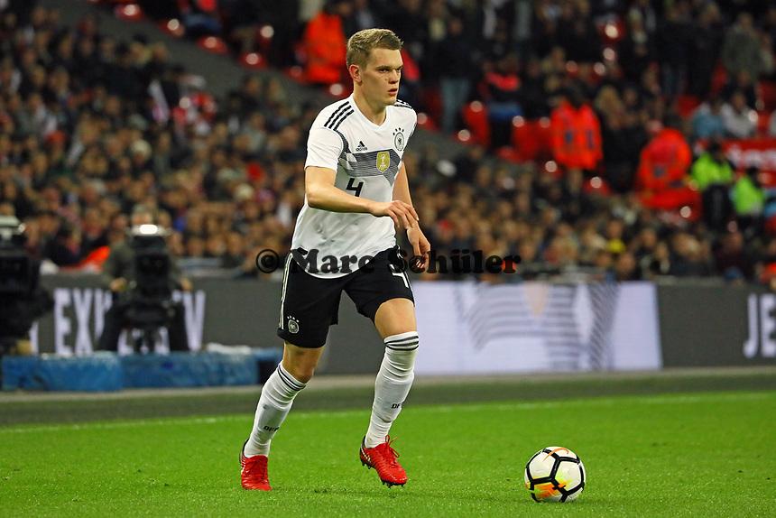 Matthias Ginter (Deutschland Germany) - 10.11.2017: England vs. Deutschland, Freundschaftsspiel, Wembley Stadium