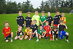 Kingdom Academy Boys Under 7 and Under 8  at Cahermoneen ground on Friday.  Front left to right,Gavin Davis, Daragh Greyson, Shay Kelleher, Fionn O'Dalaigh, Shane Crossen, Nick Lacy, Matthew Rogers, Rae Moriarty.  Back left to right, Conor Lucey, Stephen Turner, Conor Crean, Seamus Cahill, Luke Sills, Alex Riordan, Pierse Lowth