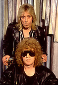 1990: HUNTER RONSON BAND - Mick Ronson and Ian Hunter Photosession