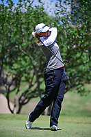 Stacy Lewis (USA) watches her tee shot on 2 during round 4 of  the Volunteers of America Texas Shootout Presented by JTBC, at the Las Colinas Country Club in Irving, Texas, USA. 4/30/2017.<br /> Picture: Golffile | Ken Murray<br /> <br /> <br /> All photo usage must carry mandatory copyright credit (&copy; Golffile | Ken Murray)
