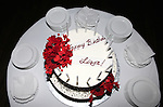 Cake for the Liza Minnelli 67th Birthday Celebration at the Copa in New York City on 3/13/2013..