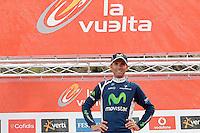 Alejandro Valverde after the stage of La Vuelta 2012 between Lleida-Lerida and Collado de la Gallina (Andorra).August 25,2012. (ALTERPHOTOS/Acero) /NortePhoto.com<br /> <br /> **CREDITO*OBLIGATORIO** <br /> *No*Venta*A*Terceros*<br /> *No*Sale*So*third*<br /> *** No*Se*Permite*Hacer*Archivo**<br /> *No*Sale*So*third*
