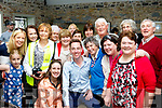 RTE's  Ryan Tubridy broadcasted his show from Ballybunion last Wednesday, pictured in the Coast Cáfe surrounded by the locals after the show.