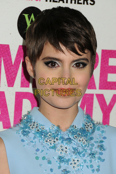 4 February 2014 - Los Angeles, California - Sami Gayle. &quot;Vampire Academy&quot; Los Angeles Premiere held at Regal Cinemas L.A. Live. <br /> CAP/ADM/BP<br /> &copy;Byron Purvis/AdMedia/Capital Pictures