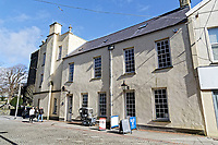 Pictured: Llanelly House or Plas Llanelly in the town centre. Wednesday 09 March 2018<br /> Re: The effect that the Scarlets RFC has had in the town of Llanelli in Carmarthenshire and the west Wales region.