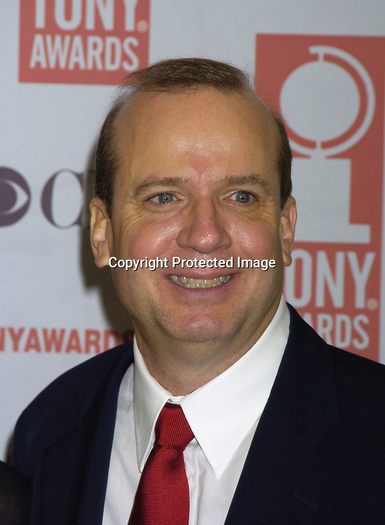Barry Grove..at The 2005 Tony Awards Nominees Meet the Press Reception on May 11, 2005 at The Marriott Marquis Hotel. ..Photo by Robin Platzer, Twin Images