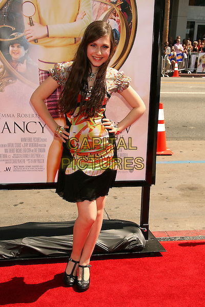 "ERIN SANDERS.""Nancy Drew"" World Premiere held at Grauman's Chinese Theatre, Hollywood, California, USA, 09 June 2007..full length hands on hips.CAP/ADM/RE.©Russ Elliot/AdMedia/Capital Pictures."