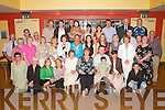 50TH: Richard Lawlor of Lixnaw (third from left) celebrating his 50th birthday in the Ballyroe Heights Hotel, Tralee, on Friday night, along with family and friends..