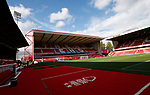 General view of the stadium during the Championship match at the City Ground Stadium, Nottingham. Picture date 30th September 2017. Picture credit should read: Simon Bellis/Sportimage