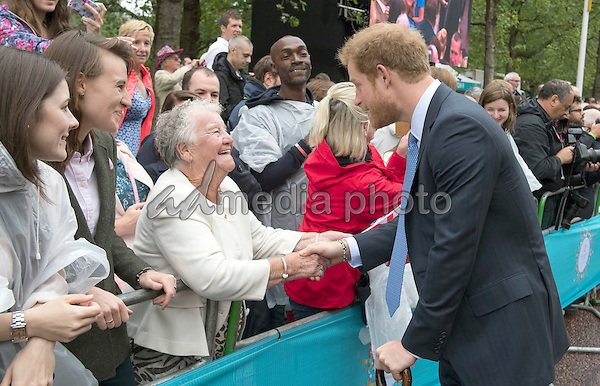 12 June 2016 - London, England - Prince Harry. The Patrons Lunch 2016 during celebrations for the Queens 90th Birthday held at The Mall London. Photo Credit: ALPR/AdMedia
