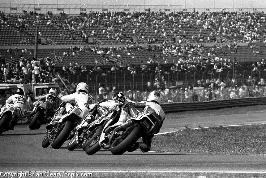 Daytona 200, Daytona International Speedway, March 8, 1987.  (Photo by Brian Cleary/bcpix.com)
