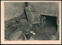 BNPS.co.uk (01202 558833)<br /> Pic: Warwick&Warwick/BNPS<br /> <br /> Another elaborate escape tunnel constructed by the inmates of Colditz and photographed by Lange.<br /> <br /> A remarkable archive of photos which provide a glimpse inside the infamous Colditz Castle has come to light.<br /> <br /> The photos show the ingenuity of the Allied POWs who devised ever-bolder ways to escape from the German stronghold during World War Two.<br /> <br /> One image is of a dummy they would hold up to trick the German guards into believing the escaper was still with them during parade head counts. Others reveal the tunnels which were dug using tools smuggled into the 11th century castle in care parcels.<br /> <br /> The photos were taken by the official Colditz photographer Johannes Lange, who was employed by the German Army to take pictures of failed Allied escape attempts. They were then distributed to other POW camps to alert the guards to the methods the inmates were using in their bids for freedom.<br /> <br /> The archive is being sold by a private collector with auctioneer Warwick & Warwick, with an estimate of £1,750.