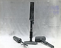 Undated - A Japanese grenade launcher or light mortar that was widely used in the Pacific during the World War II. (Photo by Kingendai Photo Library/AFLO)