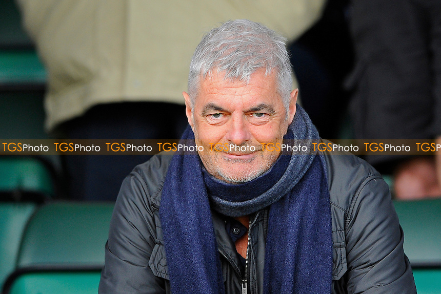 Ex AFC Bournemouth Director Eddie Mitchell  attended the game - Yeovil Town vs Gillingham - Sky Bet League One Football at Huish Park, Yeovil - 21/02/15 - MANDATORY CREDIT: Denis Murphy/TGSPHOTO - Self billing applies where appropriate - contact@tgsphoto.co.uk - NO UNPAID USE