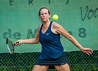 Etten-Leur, The Netherlands, August 26, 2017,  TC Etten, NVK, Saskia Riechers (NED)<br /> Photo: Tennisimages/Henk Koster