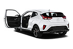 Car images of 2019 Hyundai Veloster R-Spec 2 Door Coupe Doors