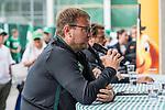 08.07.2019, Parkstadion, Zell am Ziller, AUT, TL Werder Bremen Zell am Ziller / Zillertal Tag 04<br /> <br /> im Bild<br /> Thomas Horsch (Co-Trainer SV Werder Bremen) <br /> beim Trainerteam-Talk vor Fans, <br /> <br /> Foto © nordphoto / Ewert