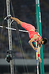 Daichi Sawano (JPN), <br /> AUGUST 13, 2016 - Athletics : <br /> Men's Pole Vault Qualifying Round <br /> at Olympic Stadium <br /> during the Rio 2016 Olympic Games in Rio de Janeiro, Brazil. <br /> (Photo by YUTAKA/AFLO SPORT)