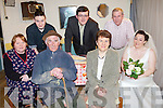 Cast members from Abbeyfeale Drama Group pictured last Saturday  in Fr Casey's GAA Club, Abbeyfeale for opening night of the John B Keane play, 'The Year of the Hiker'. Pictured l-r: Joan O'Connell, Mickie O'Connor, Dick Woulfe, Seamus Lane, Mary Murphy, Pat Scannell and Mary Boyle.