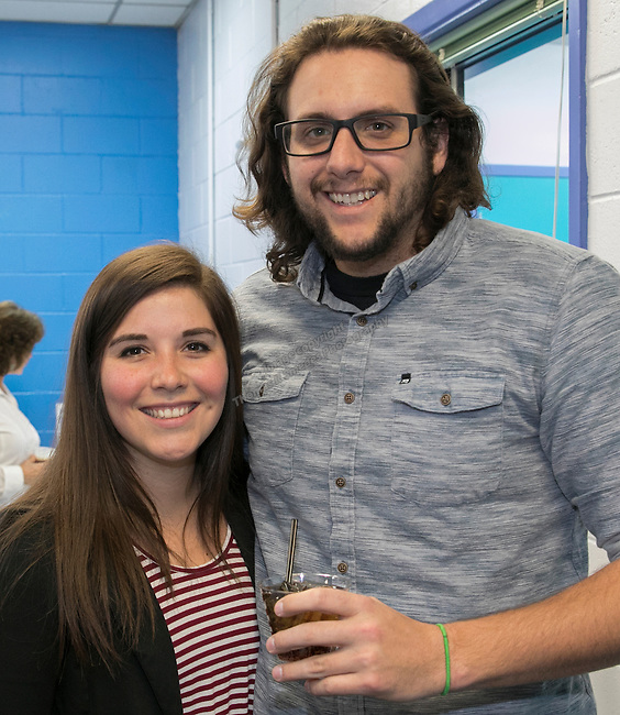 Nicole Chavez and Carlo DeSantis during the Jack T. Reviglio Cioppino Feed & Auction at the Donald W. Reynolds Facility in Reno on Saturday, February 25, 2017.