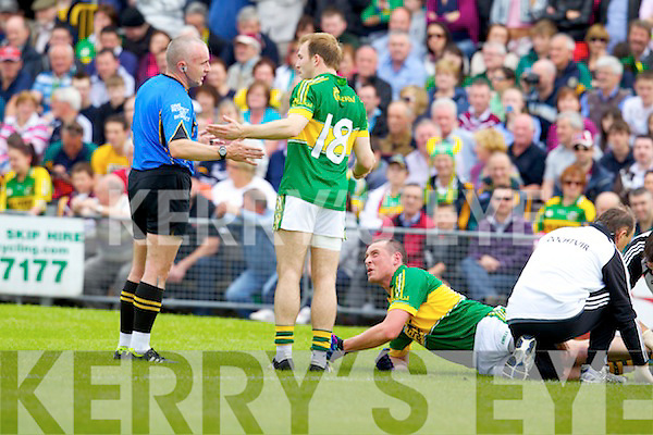 Kieran Donaghy Kerry v  Westmeath in Round 2 of the All Ireland qualifiers ay Cusack park in Mullingar on Sunday 15th July 2012.