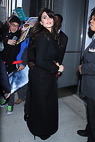 NEW YORK, NY - December 05: Penelope Cruz at SAG-AFTRA Foundation to promote her new film,  Everybody Knows on December 05, 2018 in New York City. <br /> CAP/MPI/RW<br /> &copy;RW/MPI/Capital Pictures