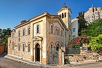 The church Agios Nikolaos Ragavas of Plaka in Athens, Greece