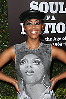 22 March 2019 - Los Angeles, California - Nafessa Williams. The Broad Museum Celebrates the Opening of Soul Of A Nation: Art in the Age of Black Power 1963-1983 Art Exhibition held at The Broad Museum. <br /> CAP/ADM/FS<br /> ©FS/ADM/Capital Pictures