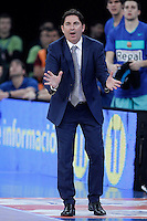 FC Barcelona Regal's coach Xavi Pascual during Spanish Basketball King's Cup semifinal match.February 07,2013. (ALTERPHOTOS/Acero) /NortePhoto