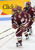 Dan Bertram (BC 22) (Lombardi, Price) - The Boston College Eagles and Providence Friars played to a 2-2 tie on Saturday, March 1, 2008 at Schneider Arena in Providence, Rhode Island.