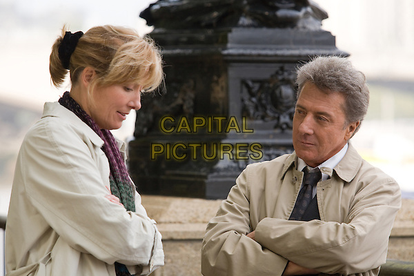 EMMA THOMPSON & DUSTIN HOFFMAN.in Last Chance Harvey.*Filmstill - Editorial Use Only*.CAP/FB.Supplied by Capital Pictures.
