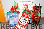 "Launching Snowed In at An Riocht  Christmas Mega Sale 10th of  December, Snowed Inn Experience 11th and 12th of December and "" Run Rudolph Run "" 5k run on  13th of December were l-r   Tara Walmsley, Bernadette Fitzgerald and James O'Leary"