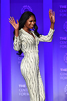 "HOLLYWOOD, CA - MARCH 23:Dominique Jackson at PaleyFest 2019 for FX's ""Pose"" panel at the Dolby Theatre on March 23, 2019 in Hollywood, California. (Photo by Vince Bucci/FX/PictureGroup)"