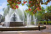 City Park Fountain, Florence, Alabama