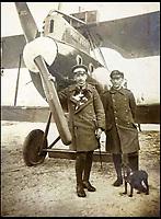 Unseen album of German WW1 airmen.
