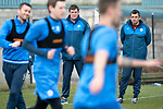 St Johnstone Training&hellip;07.04.17<br />Tommy Wright and Callum Davidson watch training this morning at McDiarmid Park ahead of tomorrow&rsquo;s trip to Inverness<br />Picture by Graeme Hart.<br />Copyright Perthshire Picture Agency<br />Tel: 01738 623350  Mobile: 07990 594431