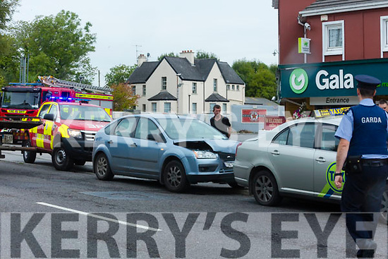 Car accident in oakpark tralee one person taken to hospital