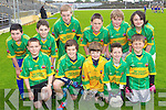 Pupils from Loughitane N.S. pictured at the Killarney Garda football blitz in Fitzgerald Stadium, Killarney on Friday, Killarney, front row l-r: Michael O'Connor, Jack Hanrahan, Christopher Wynne, Micheál Devlin, Tommy Maguire. Back row l-r: Dara Lawlor, Ciaran Quigley, Sean Fleming, Ryan Mulvaney, Luke O'Callaghan and Carmel Looney..