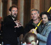 NEW YORK,NY - JULY 20,2012; Director John Carney and Mark Ruffalo shooting on location in Central Park for the new VH-1 movie &quot;Can a Song Save Your Life?&quot; in New York City. &copy; RW/MediaPunch Inc. *NortePhoto.com*<br /> **SOLO*VENTA*EN*MEXICO**<br />  **CREDITO*OBLIGATORIO** *No*Venta*A*Terceros*<br /> *No*Sale*So*third* ***No*Se*Permite*Hacer Archivo***No*Sale*So*third*&Acirc;&copy;Imagenes*con derechos*de*autor&Acirc;&copy;todos*reservados*.