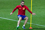 Spainsh Dani Carvajal during the training at Nuevo Los Carmenes Stadium in Granada, Spain. November 11, 2016. (ALTERPHOTOS/Rodrigo Jimenez)