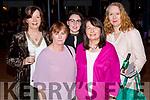 Bridget Browne, Anne Kelliher, Gemma Walsh, Ann Ronan, and Mary Loughnane, enjoying Sickly Come Dancing, UHK, at Ballygarry House Hotel & Spa, Tralee on Friday night last.