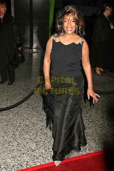 MARY WILSON.Paramount - DreamWorks Official Golden Globes After Party at The Beverly Hilton Hotel, Beverly Hills, California, USA..January 15t, 2007.full length black dress.CAP/ADM/BP.©Byron Purvis/AdMedia/Capital Pictures