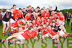 CHAMPIONS: The East Kerry minor team winners of the the minor County championship final at Killorglin on Saturday.
