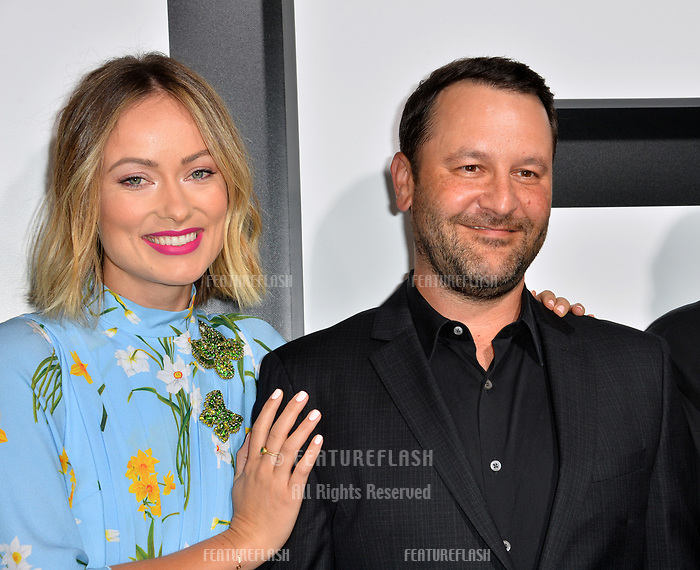LOS ANGELES, CA. September 13, 2018: Olivia Wilde &amp; Dan Fogelman at the premiere for &quot;Life Itself&quot; at the Cinerama Dome.<br /> Picture: Paul Smith/Featureflash