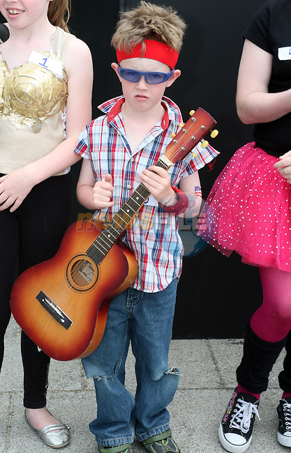 Cathal Geraghty as Bruce Springsteen at the Beat on the Boyne Festival Fancy Dress, Waterside at Scotch Hall...Photo NEWSFILE/Jenny Matthews.(Photo credit should read Jenny Matthews/NEWSFILE)....This Picture has been sent you under the condtions enclosed by:.Newsfile Ltd..The Studio,.Millmount Abbey,.Drogheda,.Co Meath..Ireland..Tel: +353(0)41-9871240.Fax: +353(0)41-9871260.GSM: +353(0)86-2500958.email: pictures@newsfile.ie.www.newsfile.ie.FTP: 193.120.102.198.