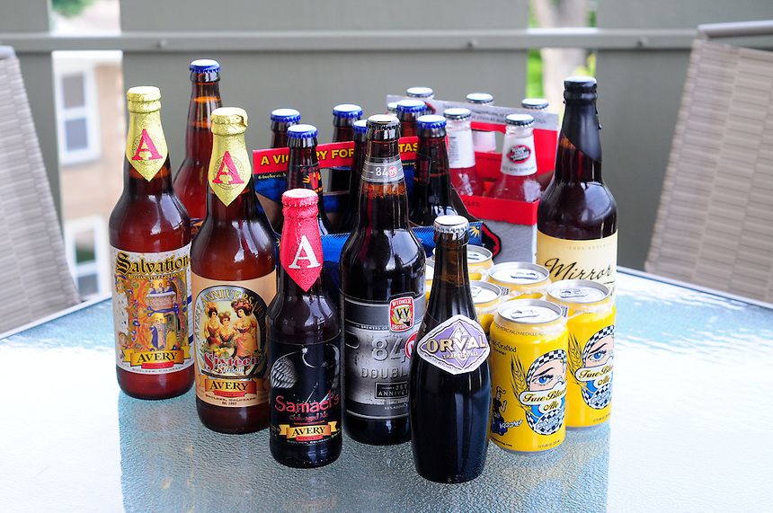 Several varieties of Beer.